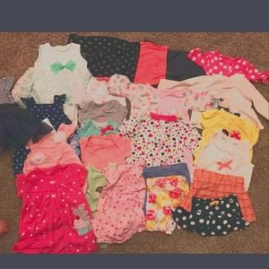 Baby Girl Clothes 3 Months MIXED LOT